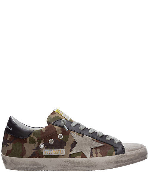 Sneakers Golden Goose superstar G36MS590.T81 verde