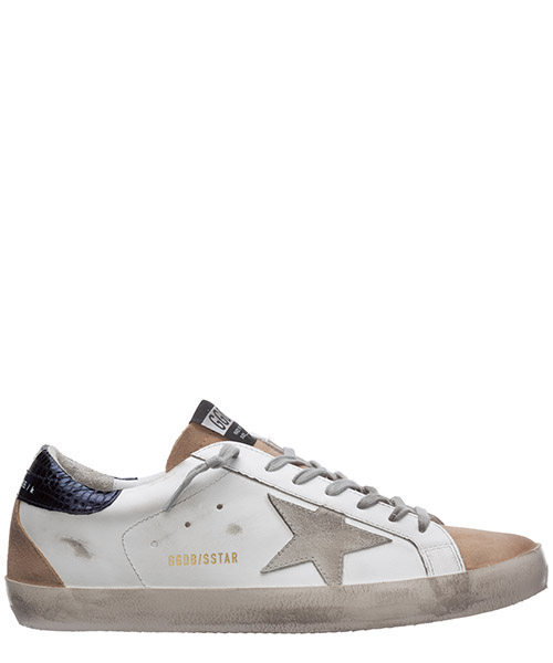Sneakers Golden Goose superstar G36MS590.T86 bianco