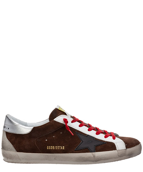 Sneakers Golden Goose superstar G36MS590.T90 brown