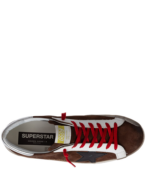 Men's shoes suede trainers sneakers superstar secondary image