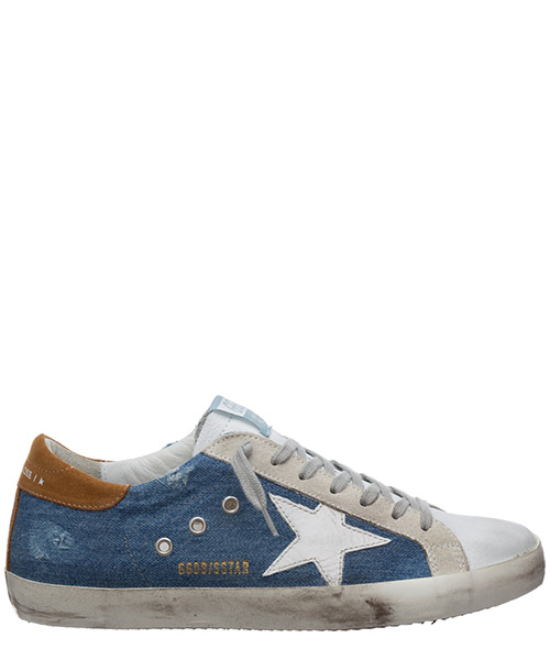Zapatillas Golden Goose superstar G36MS590.U60 light blue