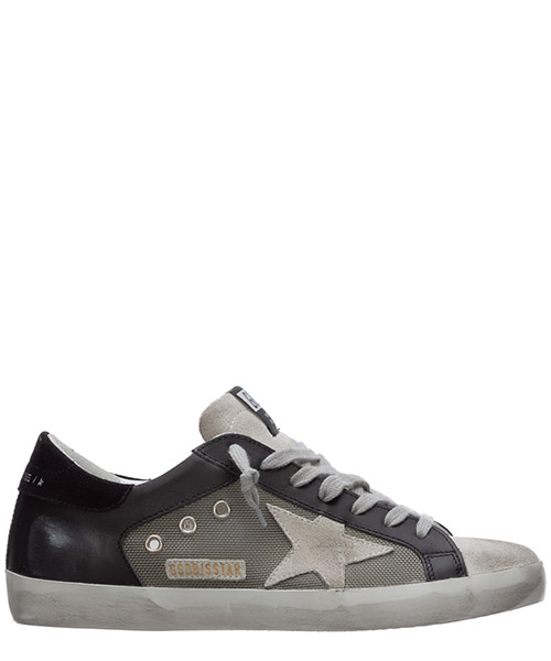 Sneakers Golden Goose superstar G36MS590.U69 nero