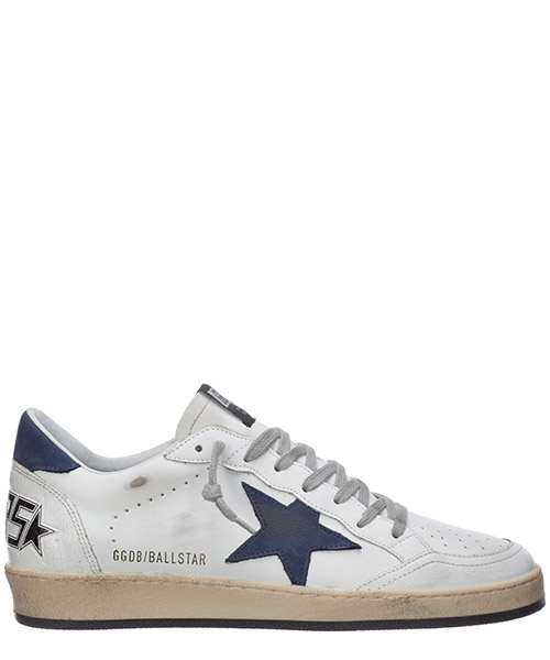 Sneakers Golden Goose ball star G36MS592.A53 bianco
