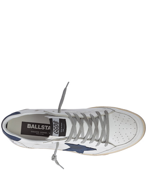 Men's shoes leather trainers sneakers ball star secondary image