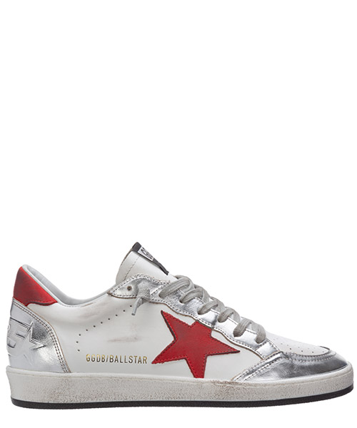 Sneakers Golden Goose ball star G36MS592.A56 bianco