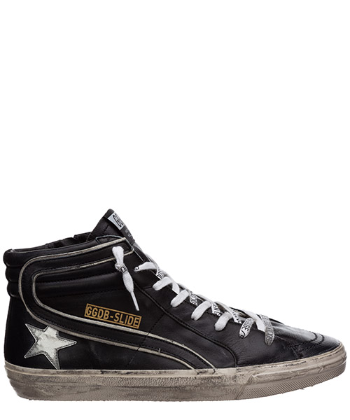 High-top sneakers Golden Goose slide G36MS595.A92 nero