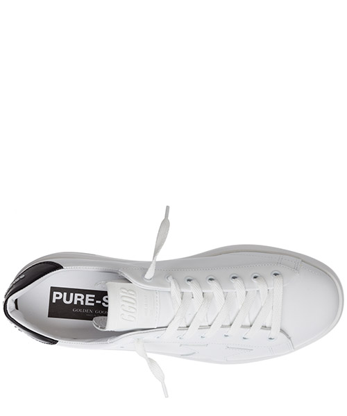 Men's shoes leather trainers sneakers pure star secondary image