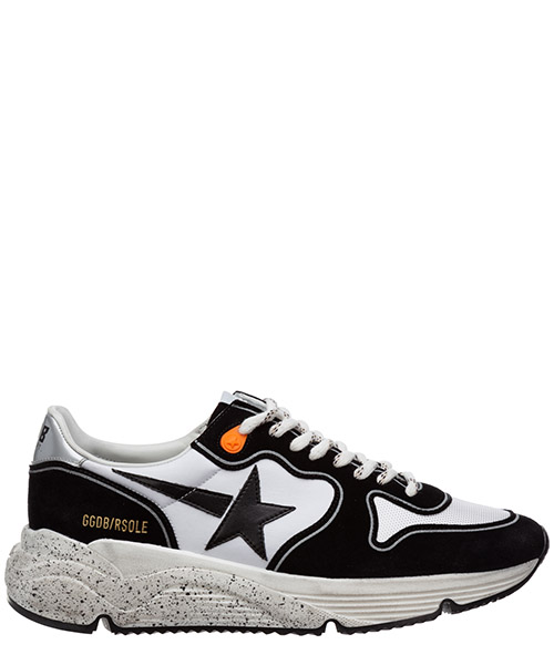 Sneakers Golden Goose running G36MS693.O7 white - black