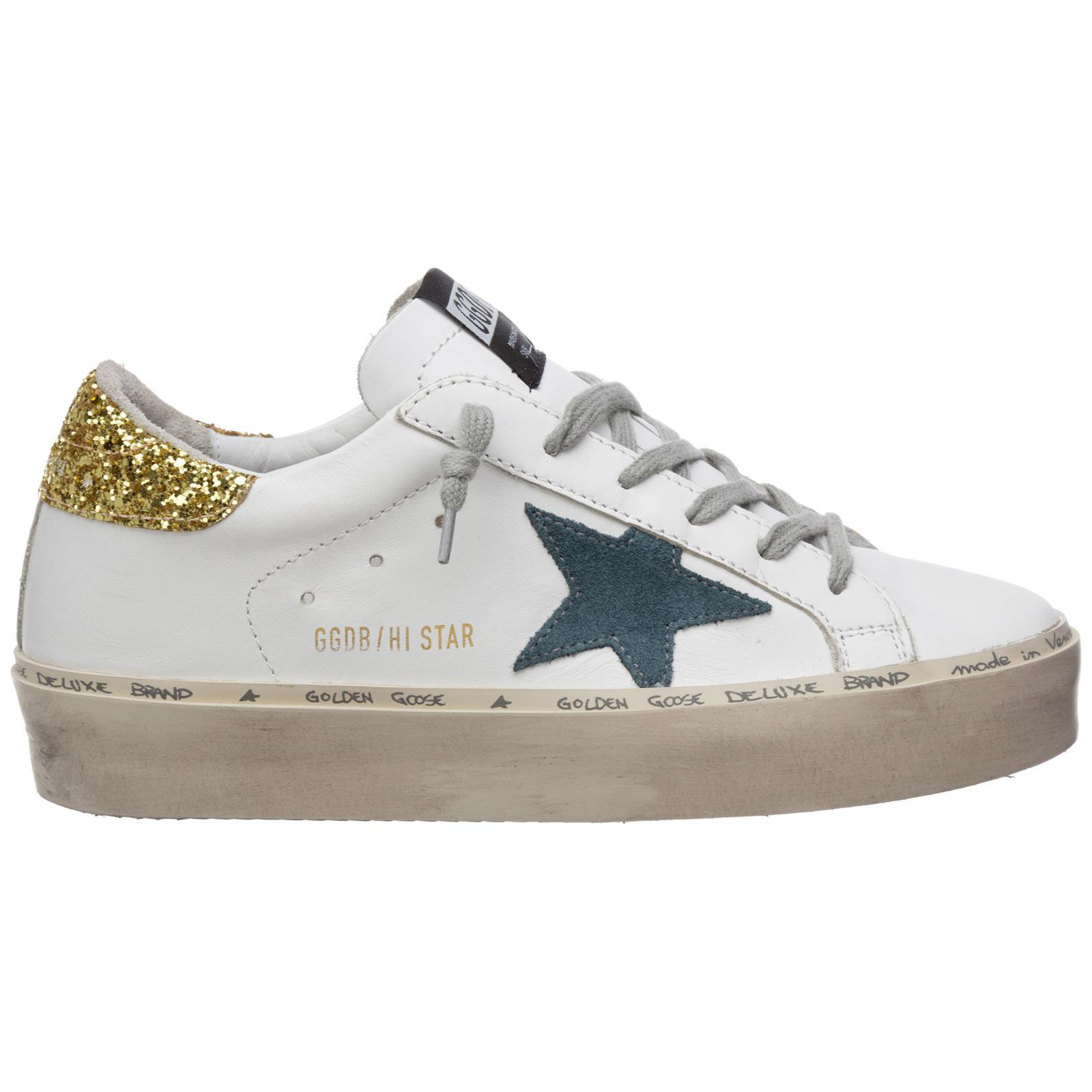 Golden Goose hi star G36WS945.N2 bianco