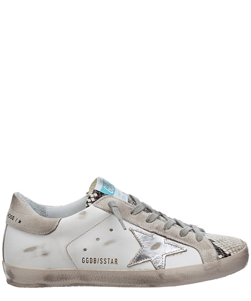 Sneakers Golden Goose superstar G36WS590.V30 bianco