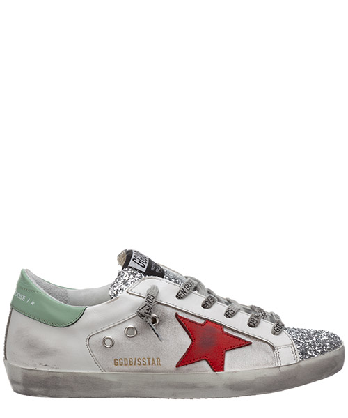 Sneakers Golden Goose superstar G36WS590.V42 bianco