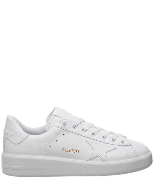 Women's shoes leather trainers sneakers pure star