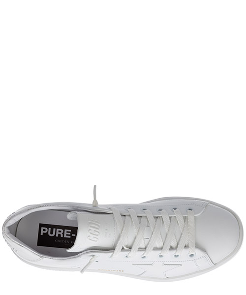 Women's shoes leather trainers sneakers pure star secondary image