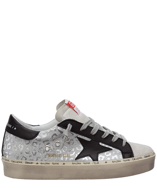 Sneakers Golden Goose hi star G36WS945.R3 black / silver