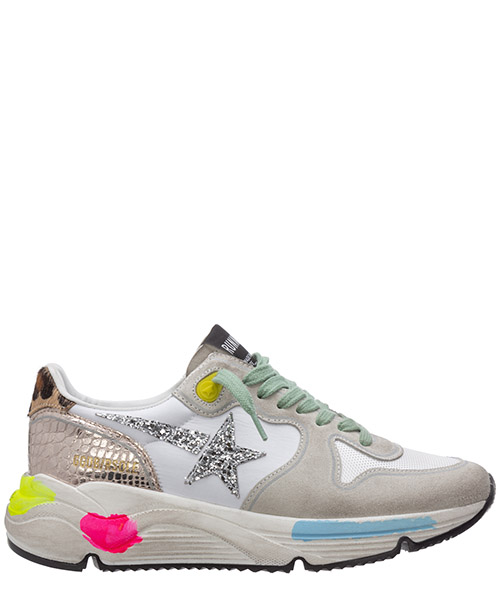 Sneakers Golden Goose running sole G36WS963.L8 bianco
