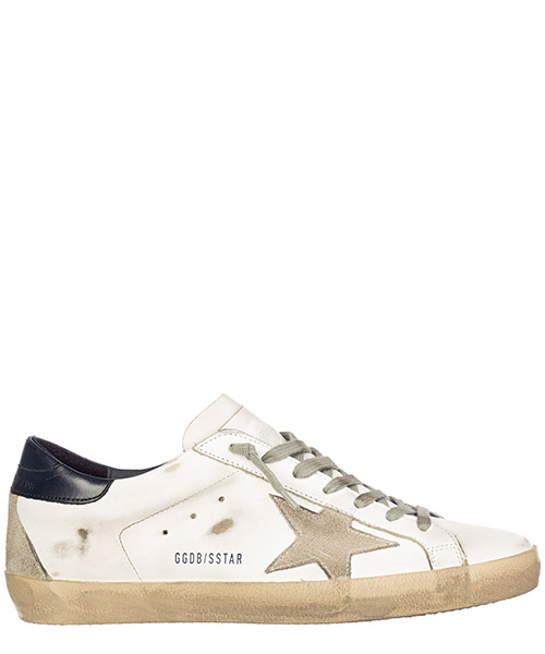 Sneakers Golden Goose superstar gcoms590.a7 bianco