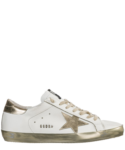 Sneakers Golden Goose GCOMS590.E37 sparkle white / gold star