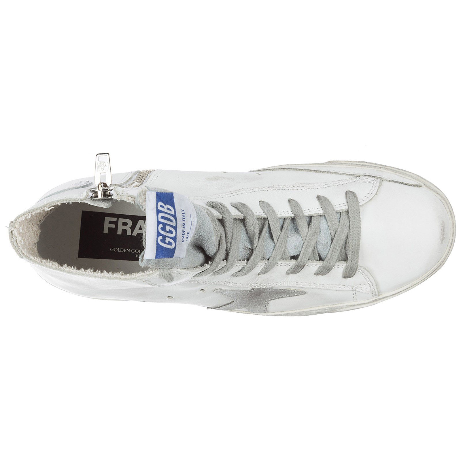 Sneakers alte Golden Goose Francy GCOWS591.G3 white silver  ea2ea033254