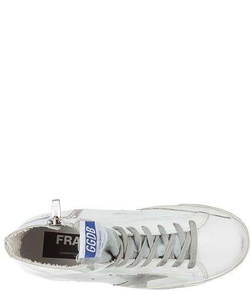 Zapatos zapatillas de deporte largas mujer en piel francy secondary image