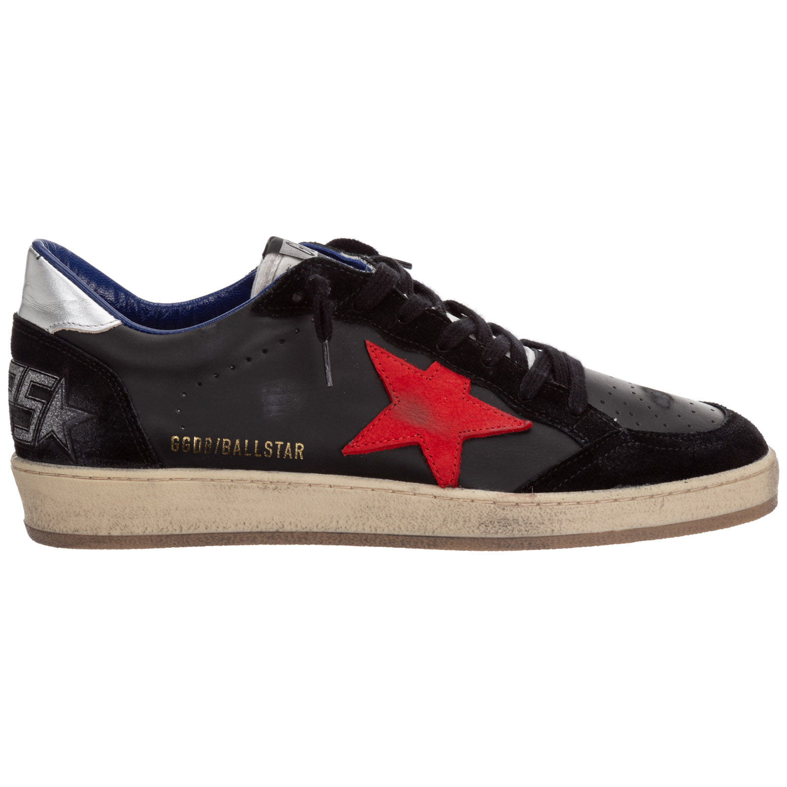 GOLDEN GOOSE MEN'S SHOES LEATHER TRAINERS SNEAKERS BALLSTAR