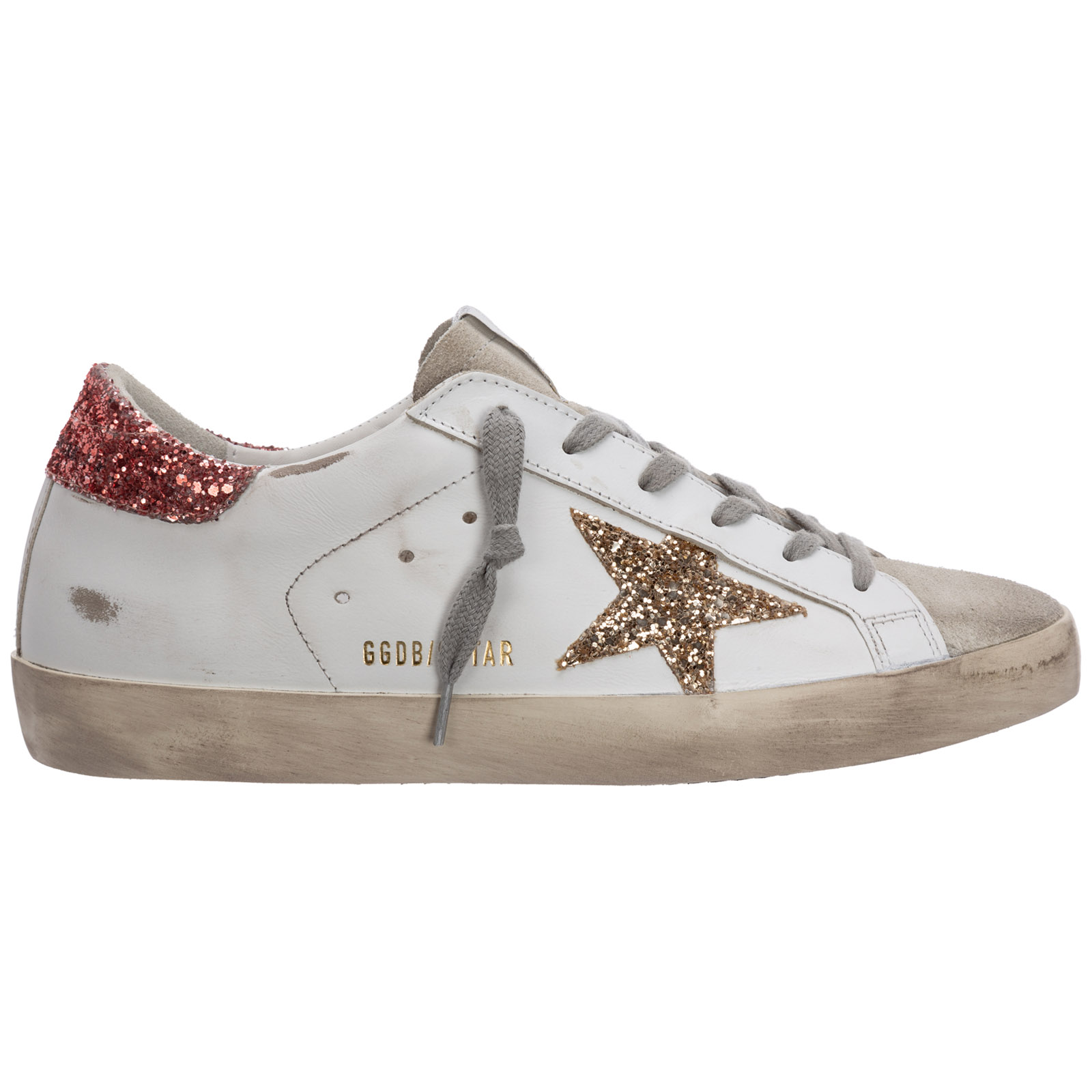Basket Golden Goose superstar GWF00101.F001010.80780 ice / white ...