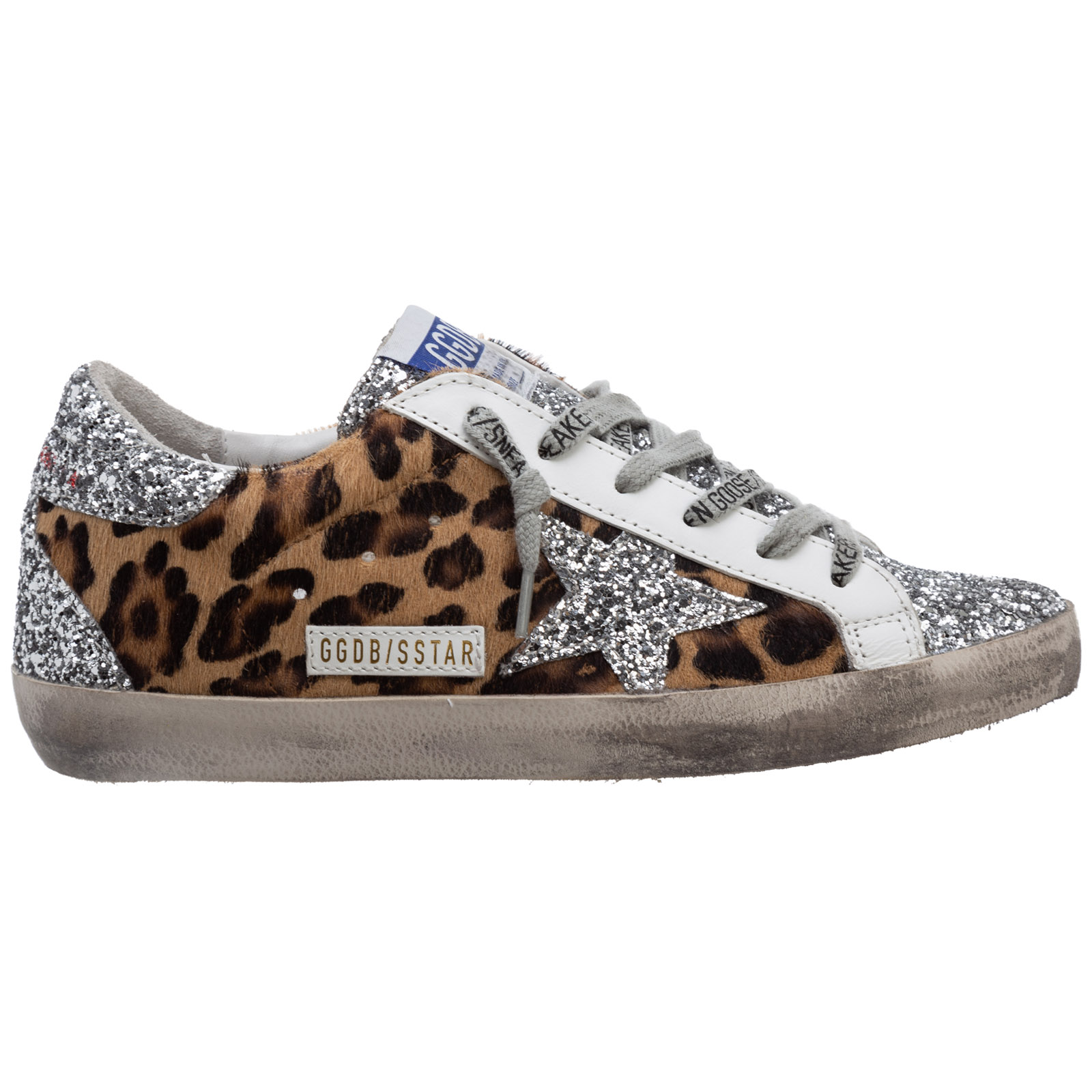 Golden Goose WOMEN'S SHOES LEATHER TRAINERS SNEAKERS SUPERSTAR