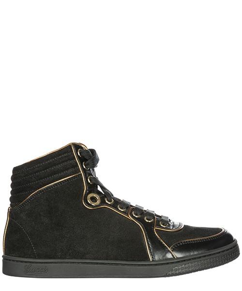 Высокие кроссовки Gucci 278548BLQC01054 nero