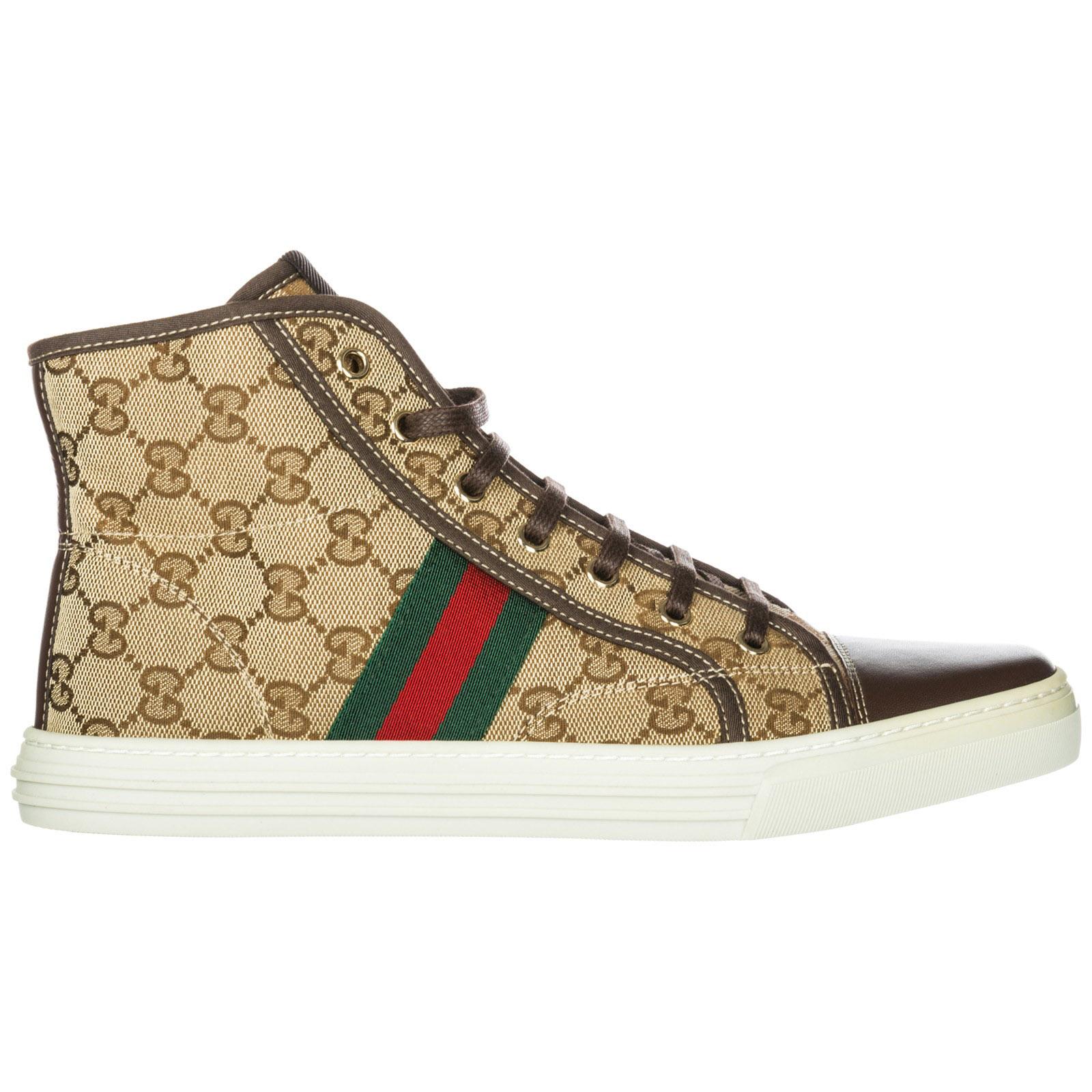 6ccd6cfb1e94 High top sneakers Gucci 283613FWCS09780 marrone