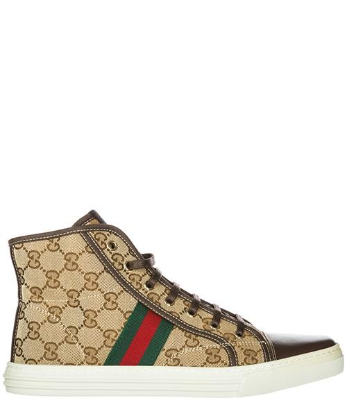 Высокие кроссовки Gucci 283613FWCS09780 marrone