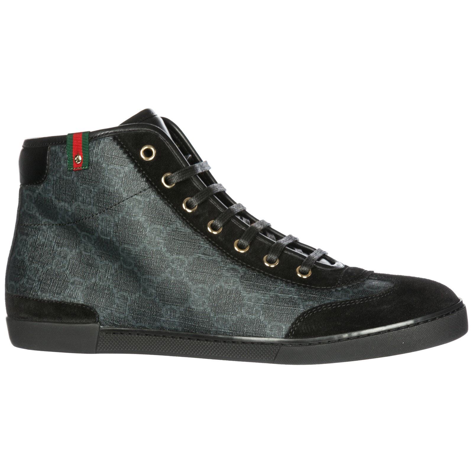28ff113ff517d ... Scarpe sneakers alte donna in pelle ...
