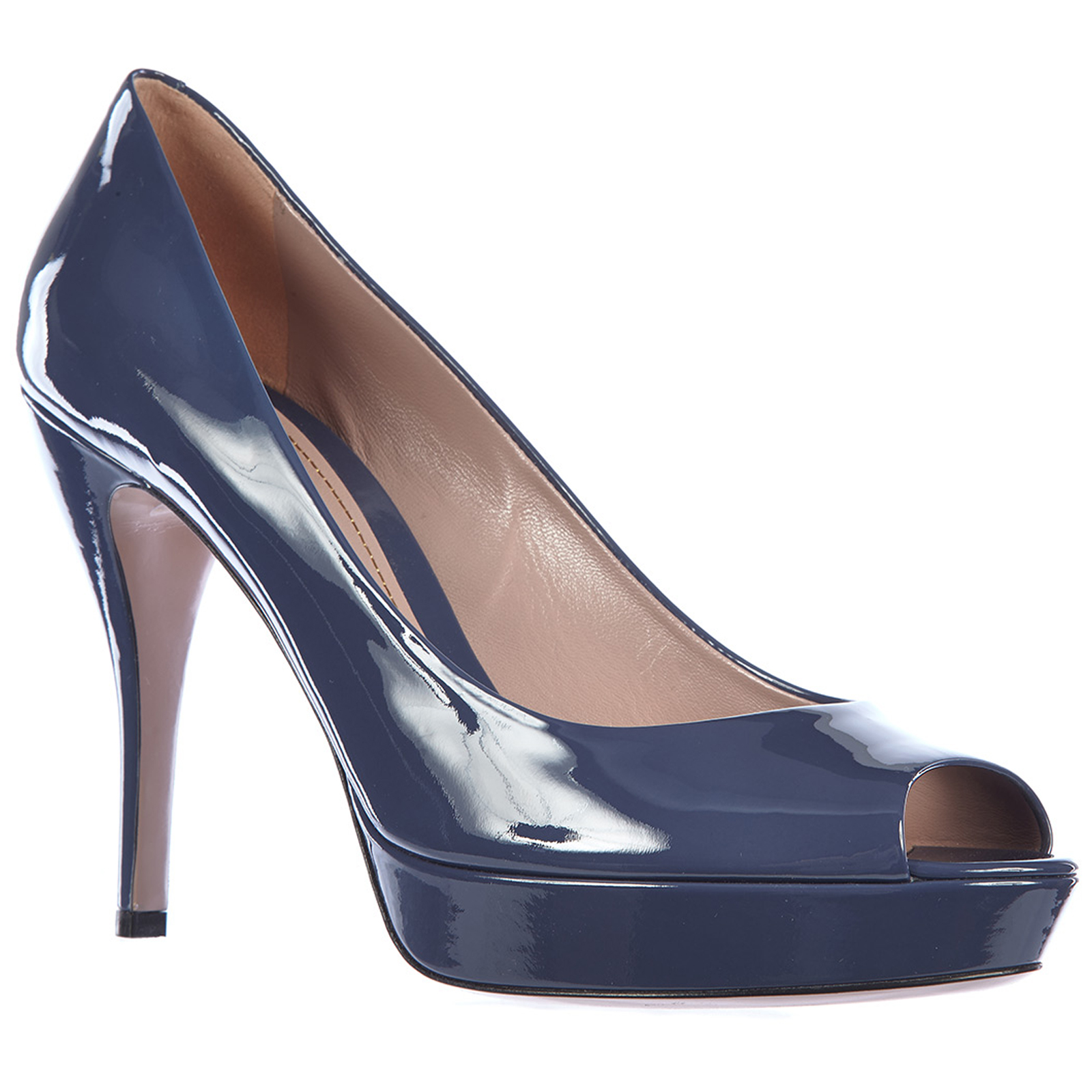 986dc75d567 ... Women s leather pumps court shoes high heel crystall ...