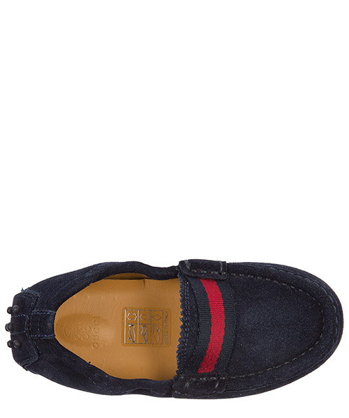 Boys shoes baby child loafers moccassins suede leather secondary image