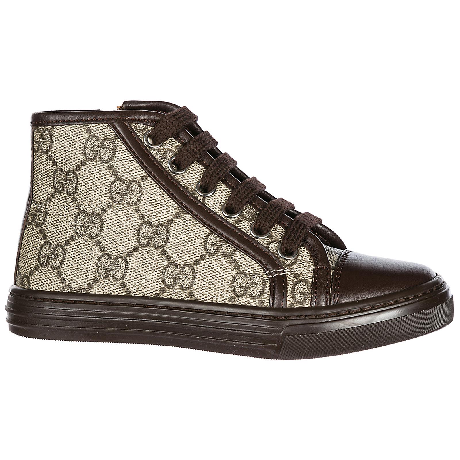 73e5968caed6b Sneakers alte Gucci 313057KLQ309799 beige ebony + cocoa
