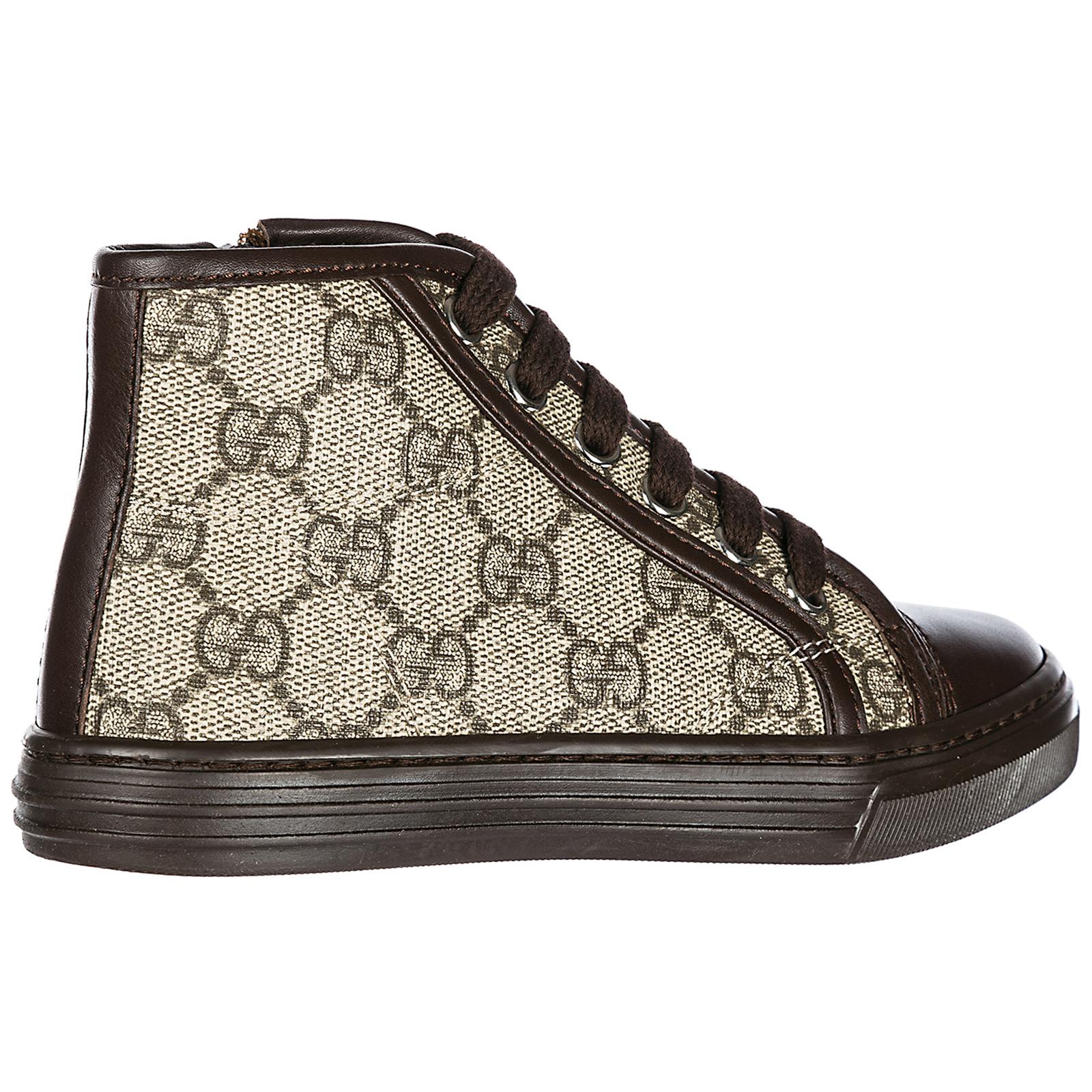 25ec9ed85c55 Sneakers alte Gucci 313057KLQ309799 beige ebony + cocoa