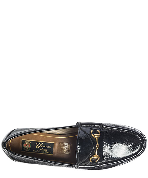 Women's leather loafers moccasins secondary image