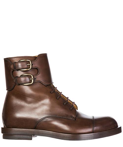 Stivaletti Gucci 325854 BLM00 2140 marrone