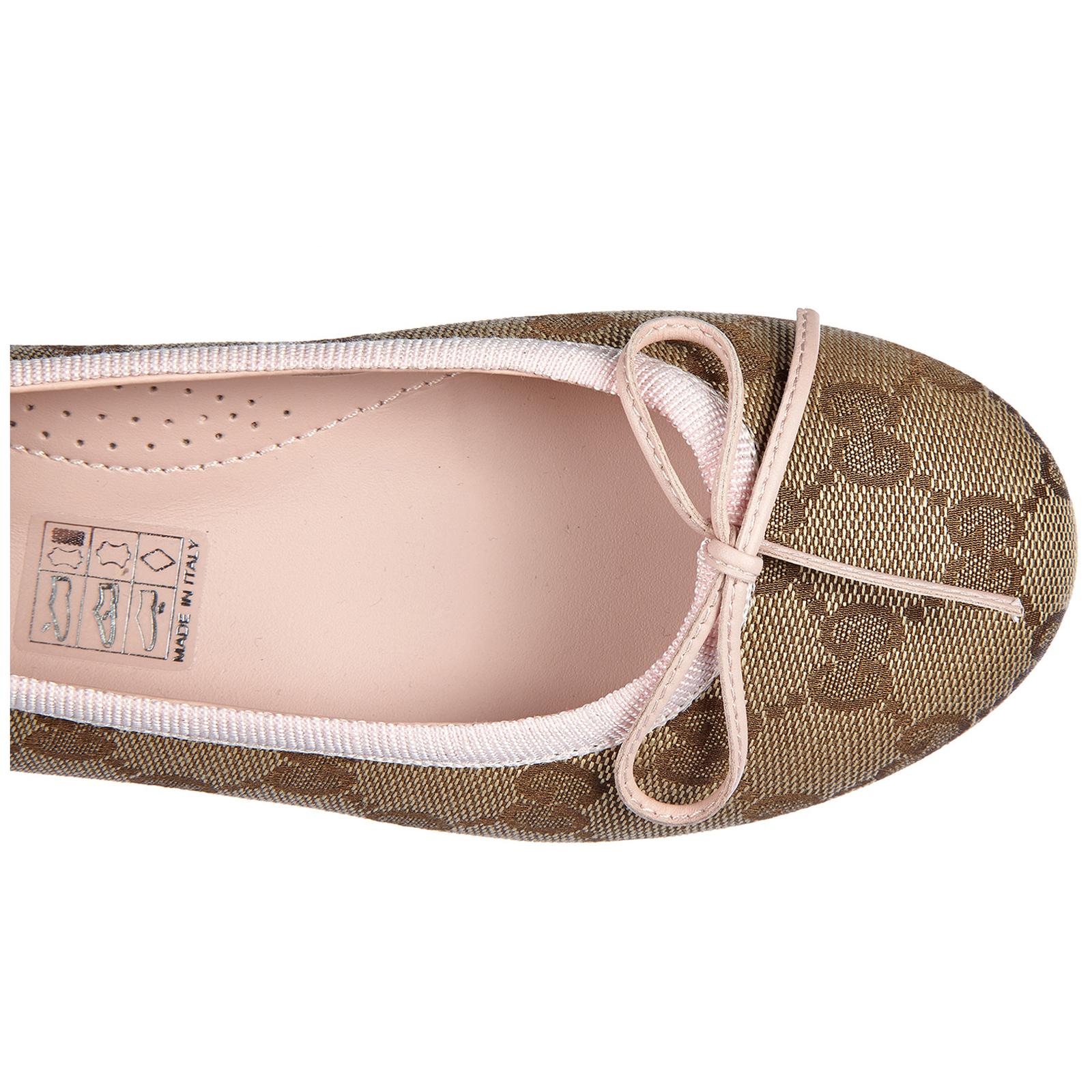 Ballerina scarpe bimba bambina cotone