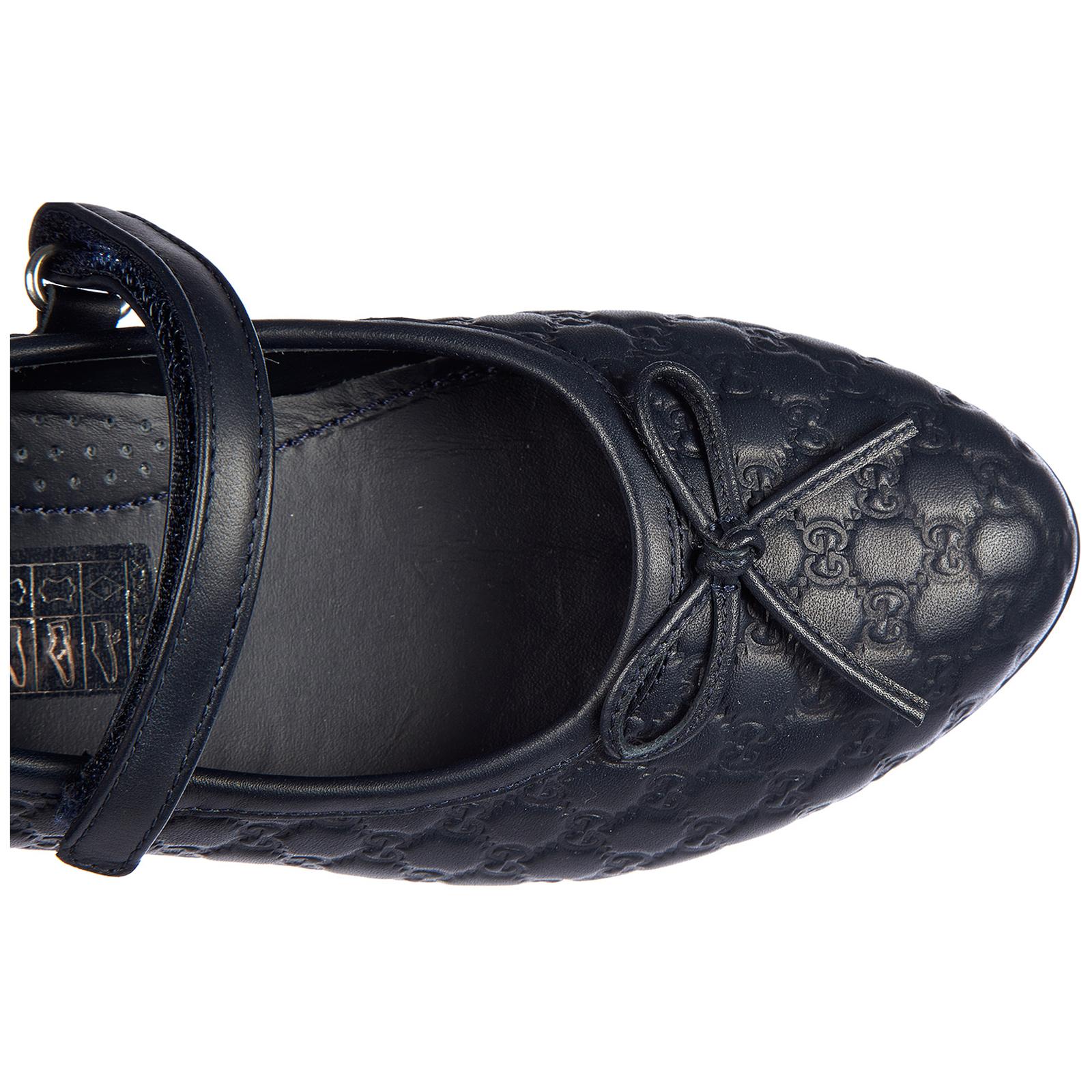 Детская обувь девочка балетки pelle nappa thea