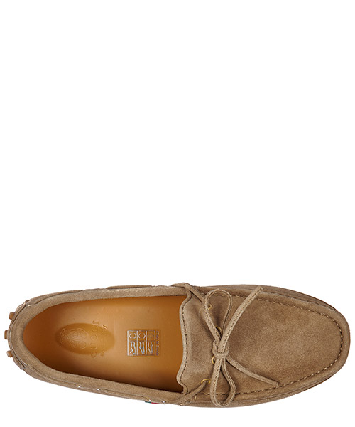 Boys shoes child loafers moccassins suede leather moca softy cloud secondary image