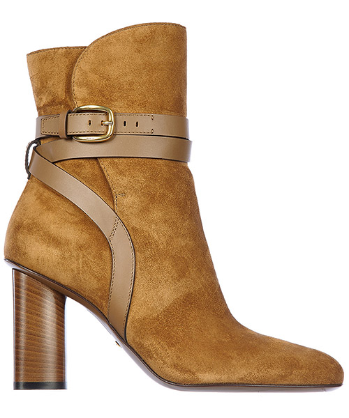 Heeled ankle boots Gucci 380949 CRP10 2617 marrone