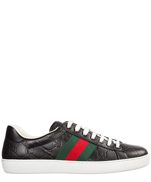 Zapatos zapatillas de deporte hombres en piel signature
