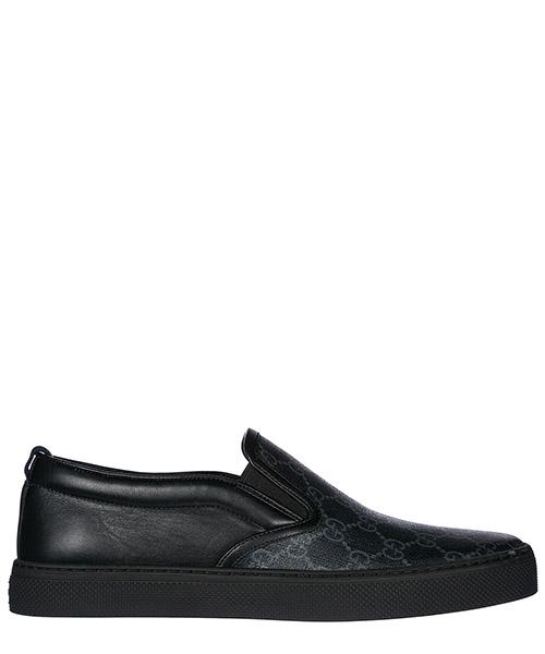 Slip on shoes Gucci GG Supreme 407362KWZK01082 nero