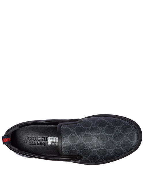 Slip on uomo in pelle sneakers  gg secondary image