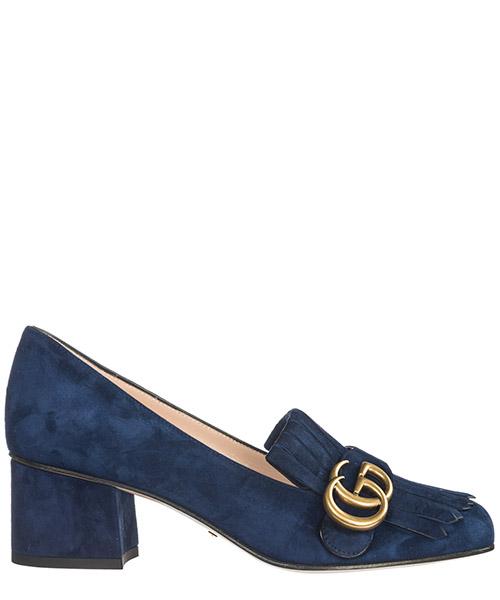 Pumps Gucci Doppia GG 408208 C2000 4140 blue