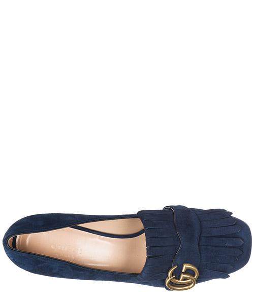 Damenschuhe leder pumps mit absatz high heels doppia gg secondary image