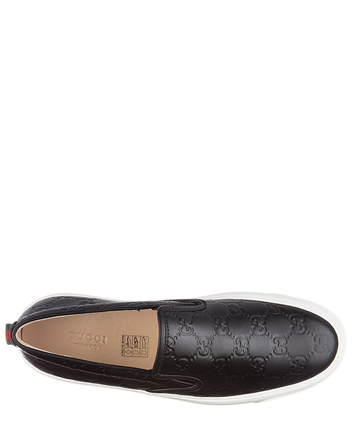 Slip on en piel mujer  gucci signature secondary image