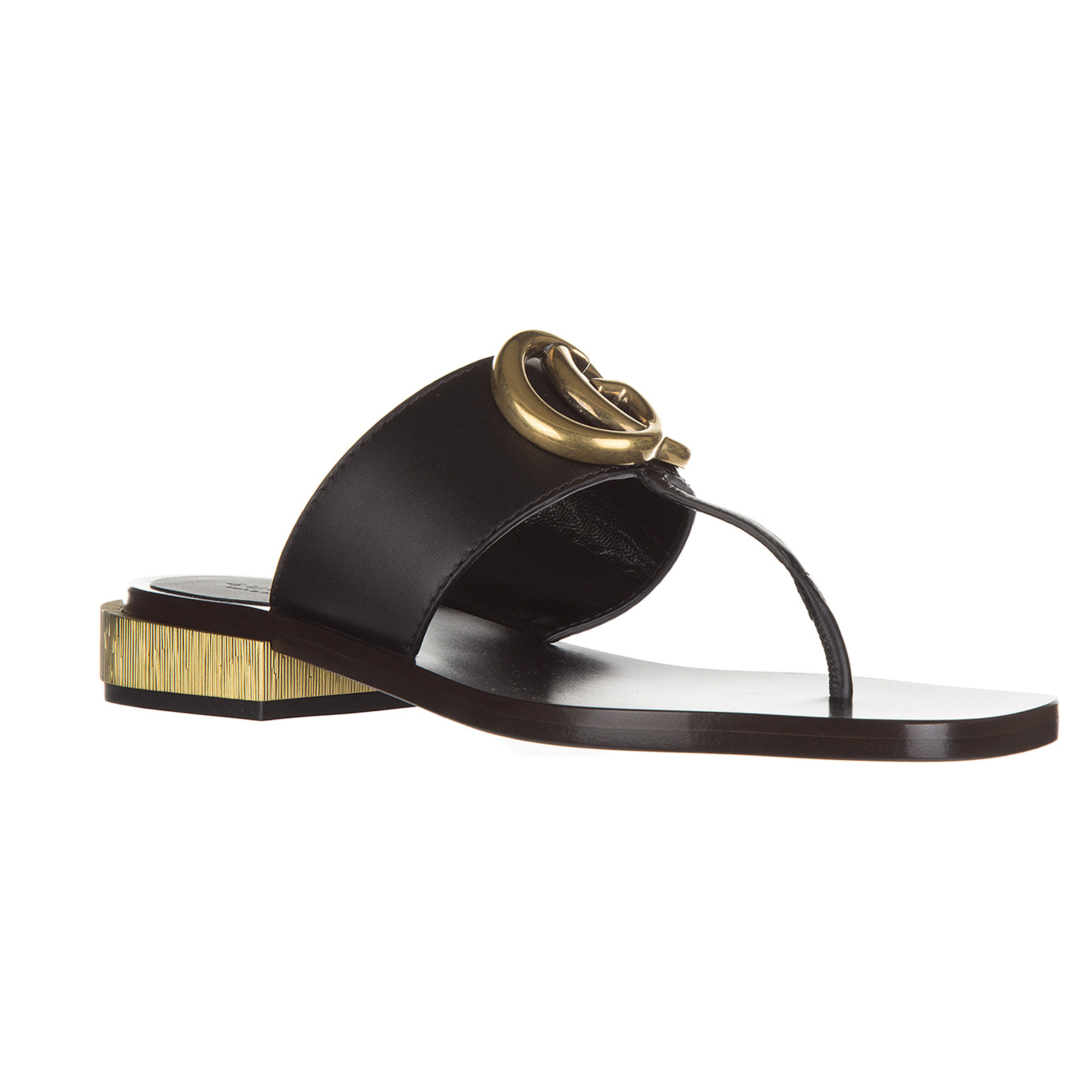 Women's leather flip flops sandals lifford