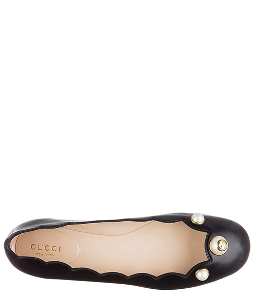 Women's leather ballet flats ballerinas  malaga kid secondary image
