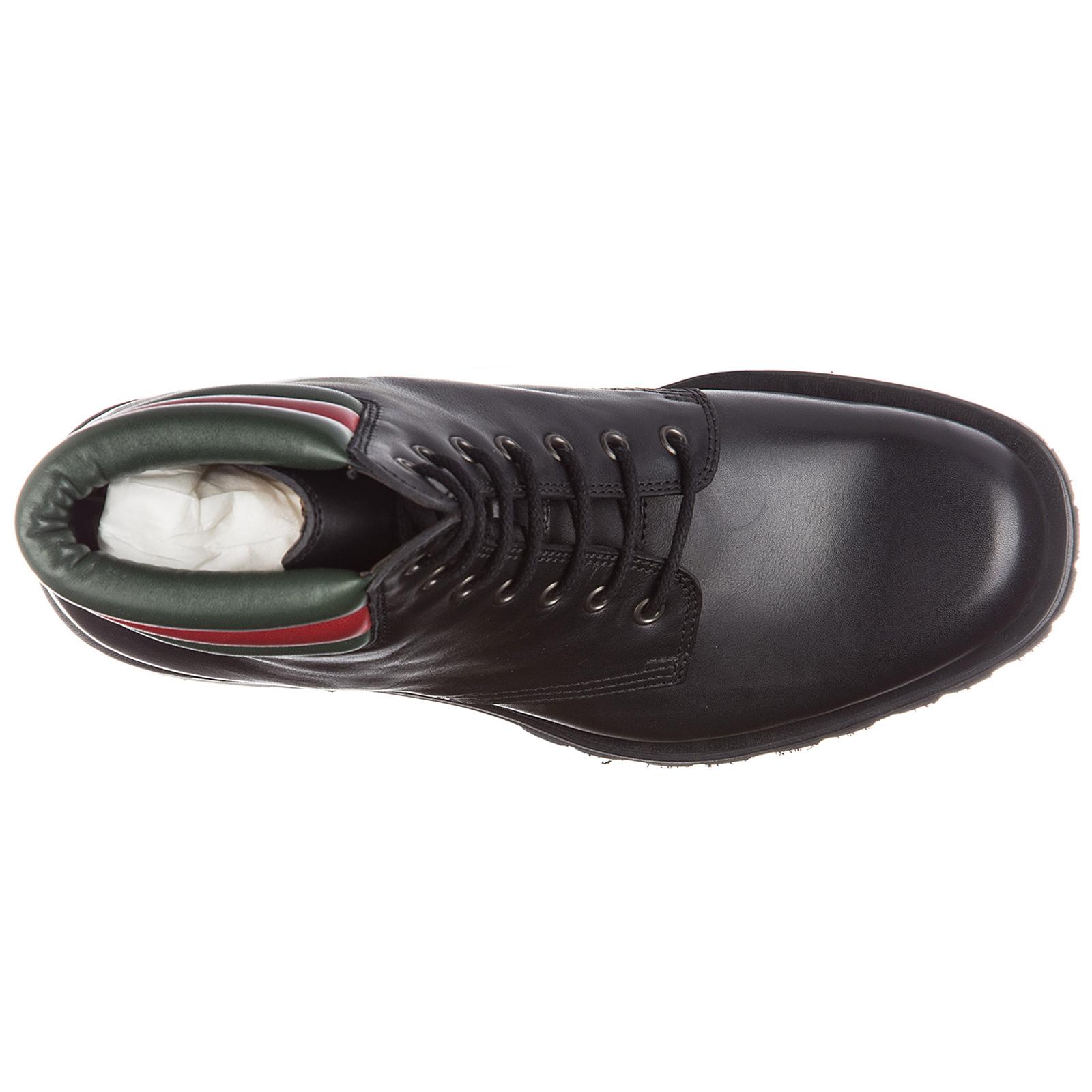 Leder stiefeletten boots herren web pantoufle