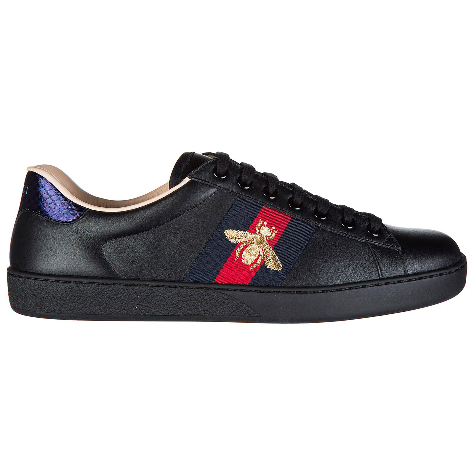 GUCCI MEN'S SHOES LEATHER TRAINERS SNEAKERS MIRO SOFT